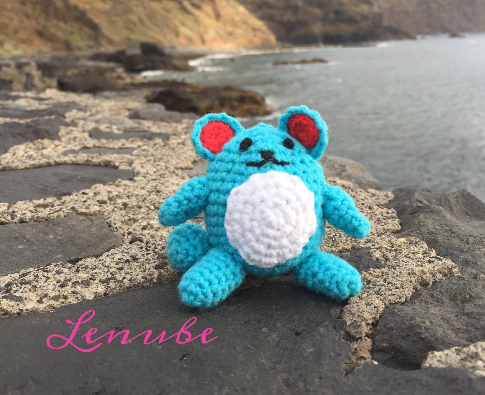 Pokemon Marill Amigurumi by thePiper666 on DeviantArt | 1304x1600