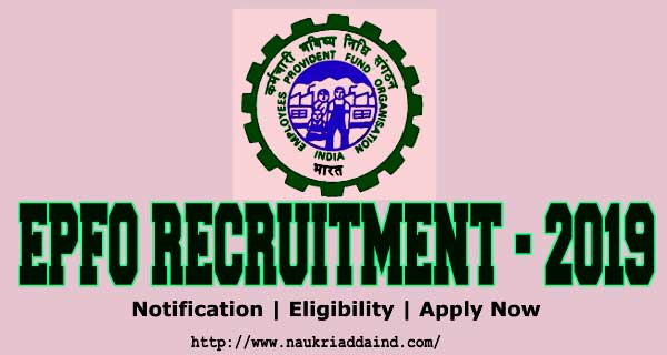 Employees Provident Fund Organisation Jobs