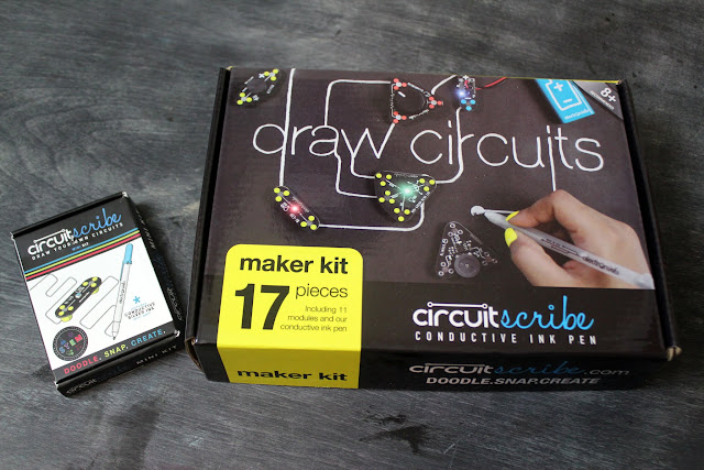 Circuit Scribe Conductive Ink pens teach kids about STEM skills in a fun and engaging way. Adults like them, too! See more in our review.