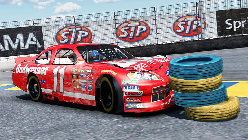 Nascar The Game Inside Line Nascar The Game Inside Line Crash Damage 01