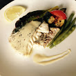 GRILLED FILLET OF HAKE WITH BEUR BLANC & HERBY VEG