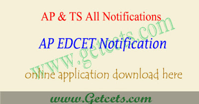 AP Edcet 2020 notification,ap edcet application form