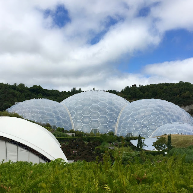 The Famous Eden Project Biomes