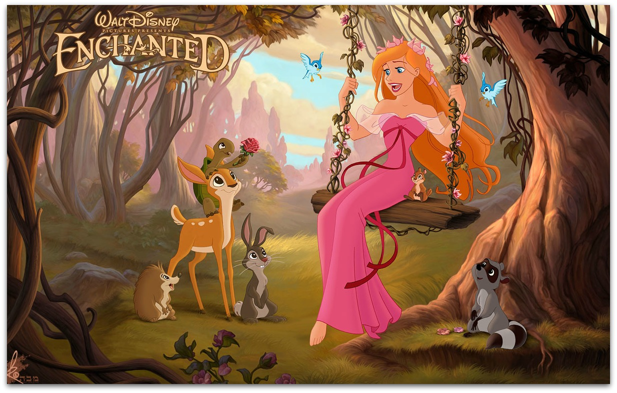 idina menzel enchanted animated - photo #25