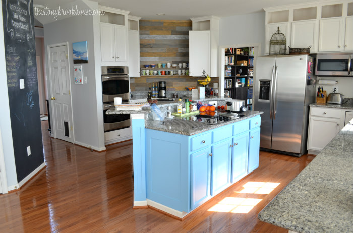 Painted Kitchen Cabinets - Love them