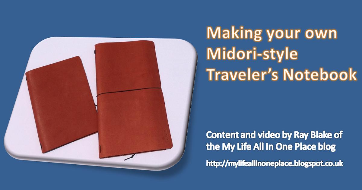 Midori Traveler S Notebook Olive