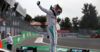 FÓRMULA 1 - Hamilton sigue apretando el Mundial a Rosberg tras triunfar también en México