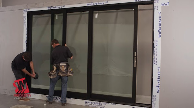 pemasangan pintu sliding aluminium