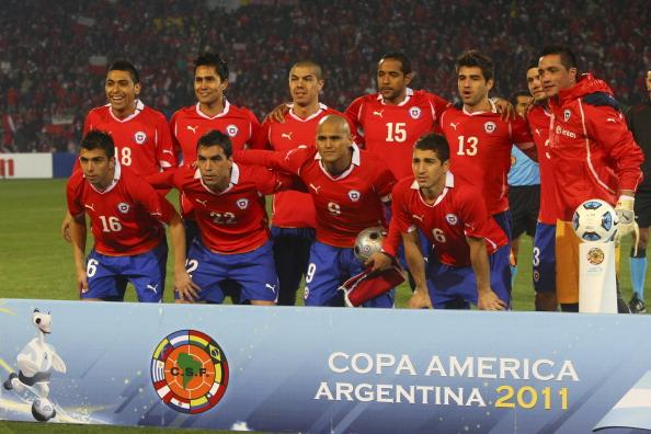 Formación de Chile ante Perú, Copa América 2011, 12 de julio