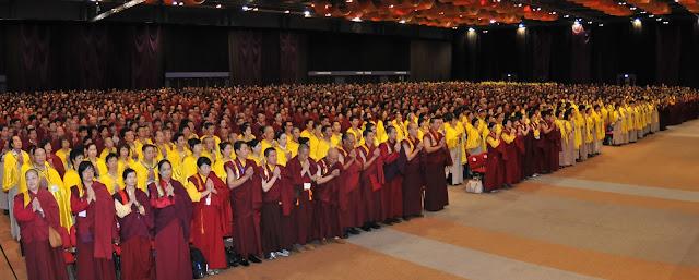 第三世多杰羌佛 2011年度香港第三屆世界佛教大會