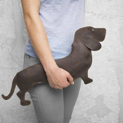 Dachshund Leather Bag