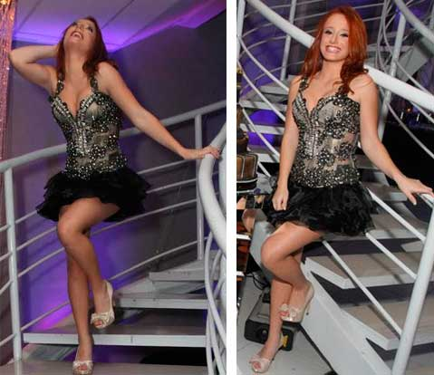 Bruna Griphao  , vestido debutante atrizes