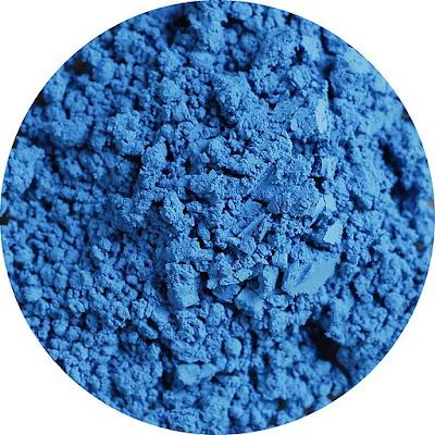 Pigmento azul cerúleo genuino (PB 35) en estado puro