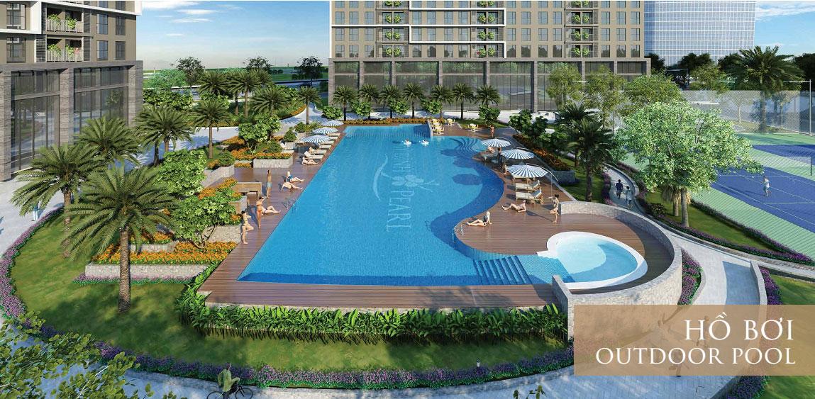 bể bơi trong nhà dự án mỹ đình plaza 2