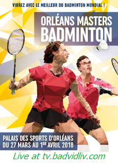 Orleans Masters 2018 live streaming