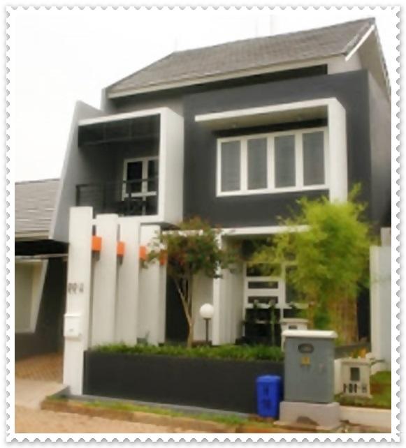 contoh rumah minimalis type 36 tingkat 2