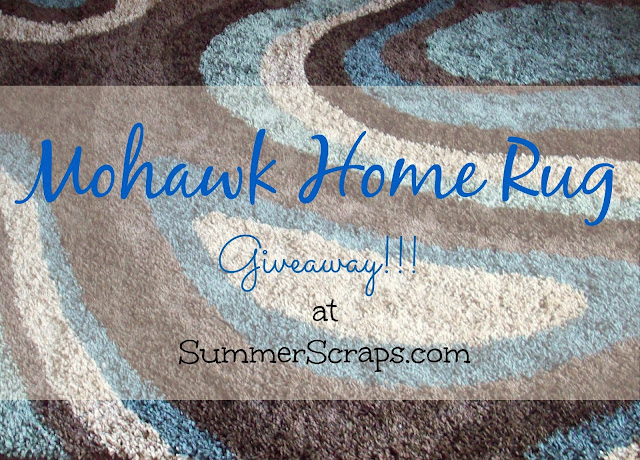 Mowhawk Rug Giveaway at www.summerscraps.com