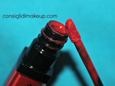 Review Velvet Ink Mulac Cosmetics  applicatore recensione dettaglio