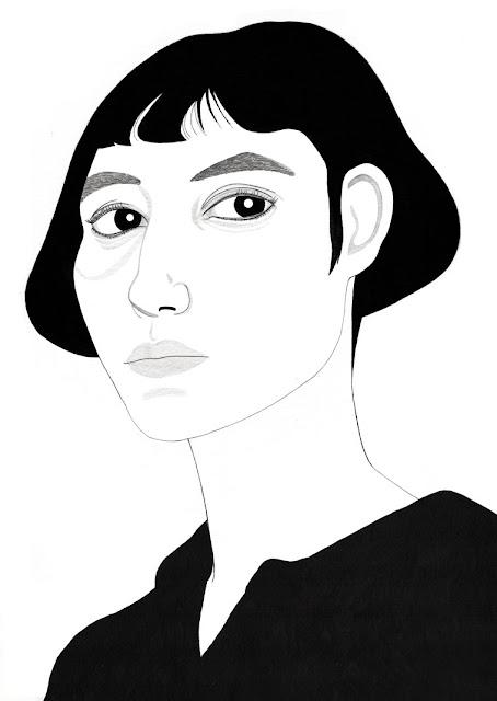Mencía Zagarella - Self-Portrait - 2016