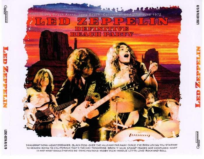 Led Zeppelin Bootlegs: Led Zeppelin - Definitive Beach Party
