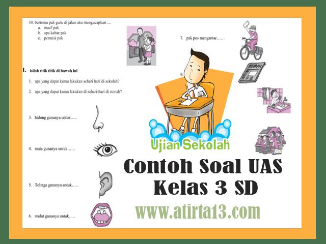 Contoh Soal UAS Kelas 3 SD Format Words