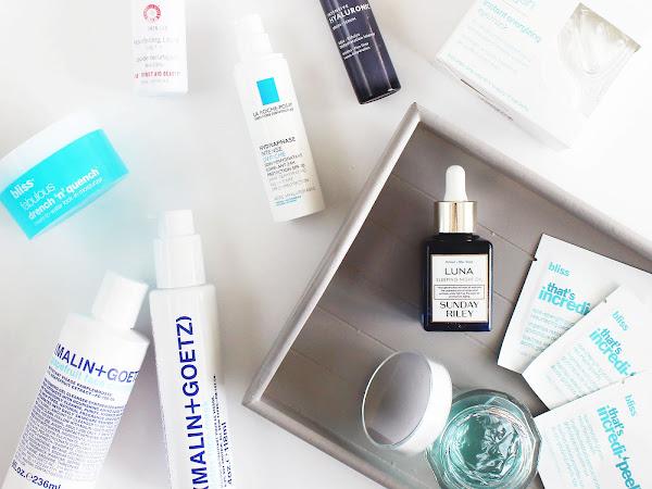 Skincare Line Up: BLUE