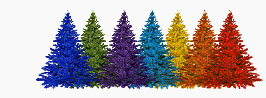 Rainbow trees