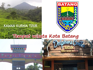 objek wisata di kota batang