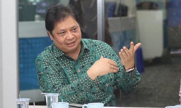 Airlangga Tidak Yakin Dengan Survei LSI Denny JA Soal Posisi Golkar di Jabar