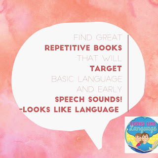 Preschool tips from Looks-Like-Language!