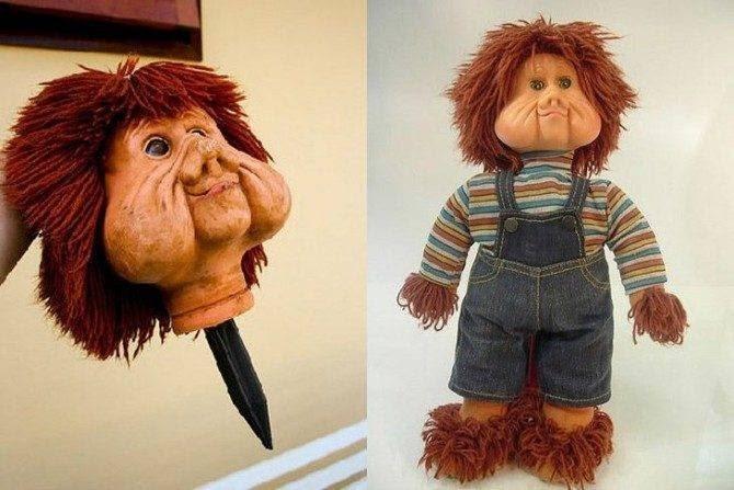 Fatos & Curiosidades: O boneco do fofão - O mistério da adaga!