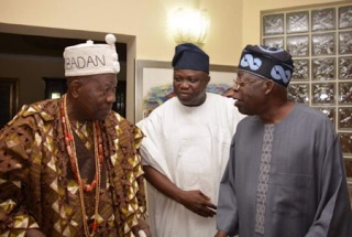 IN PICTURES: Olubadan visits Bola Tinubu