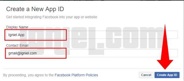 Cara Buat Sendiri Aplikasi Facebook
