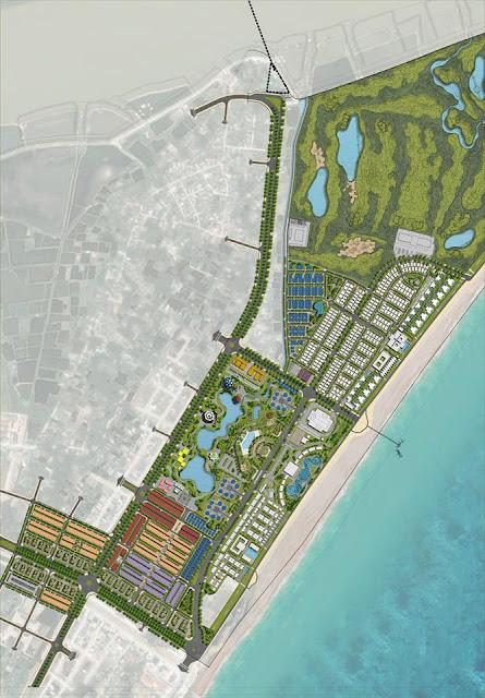 Mặt bằng tổng thể toàn khu dự án FLC Sầm Sơn