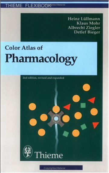Colour Atlas Of Pharmacology 2nd Edition (2007) [PDF]