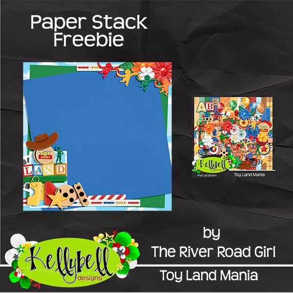 Toy Land Mania from Kellybell Designs and a FREEBIE from me!