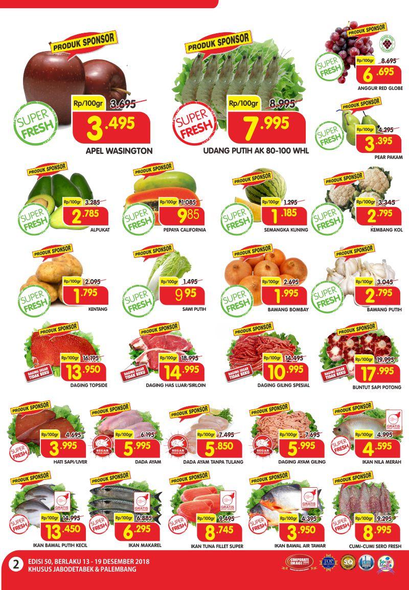 Katalog Promosi SUPERINDO Terbaru Periode Promo 13-19