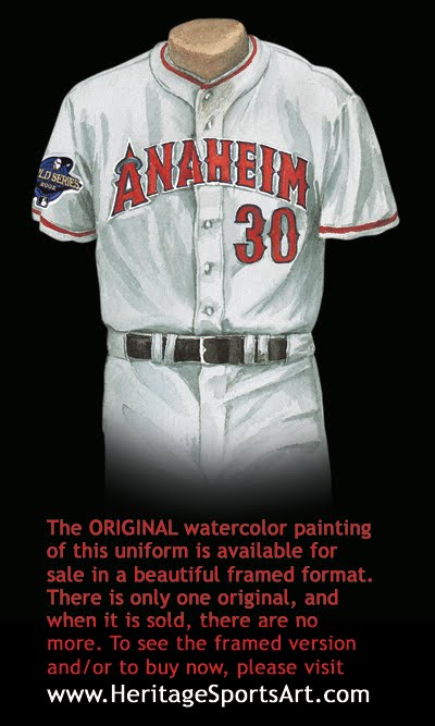Los Angeles Angels of Anaheim Uniform and Team History  99948910a