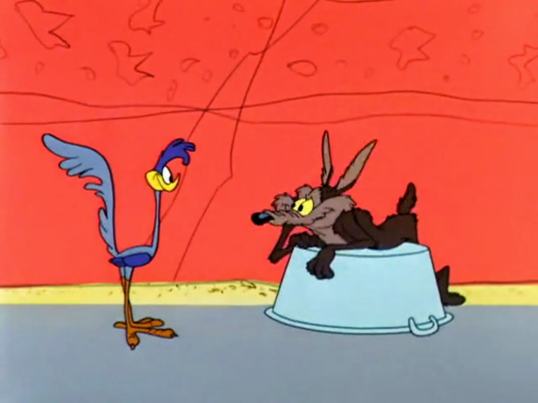 Wile E Coyote And Road Runner Hook Line And Stinker