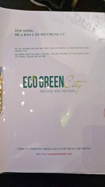 Thủ tục mua bán chuyển nhượng căn hộ Eco green city