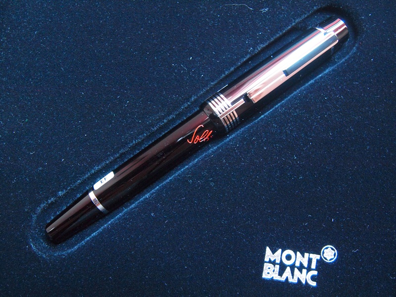 Vince S Montblanc Donation Pen Sir Georg Solti
