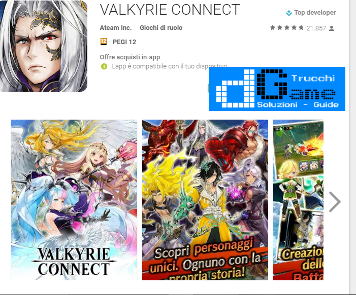Trucchi VALKYRIE CONNECT Mod Apk Android v2.0.0