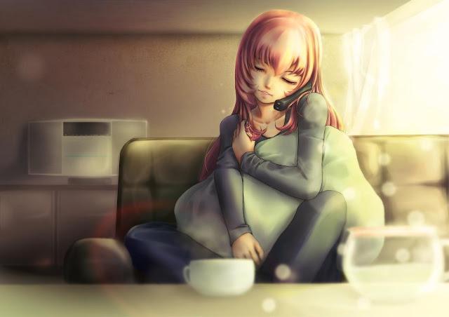 Hình ảnh Anime cô đơn - Ảnh Anime buồn cô đơn tâm trạng nhất