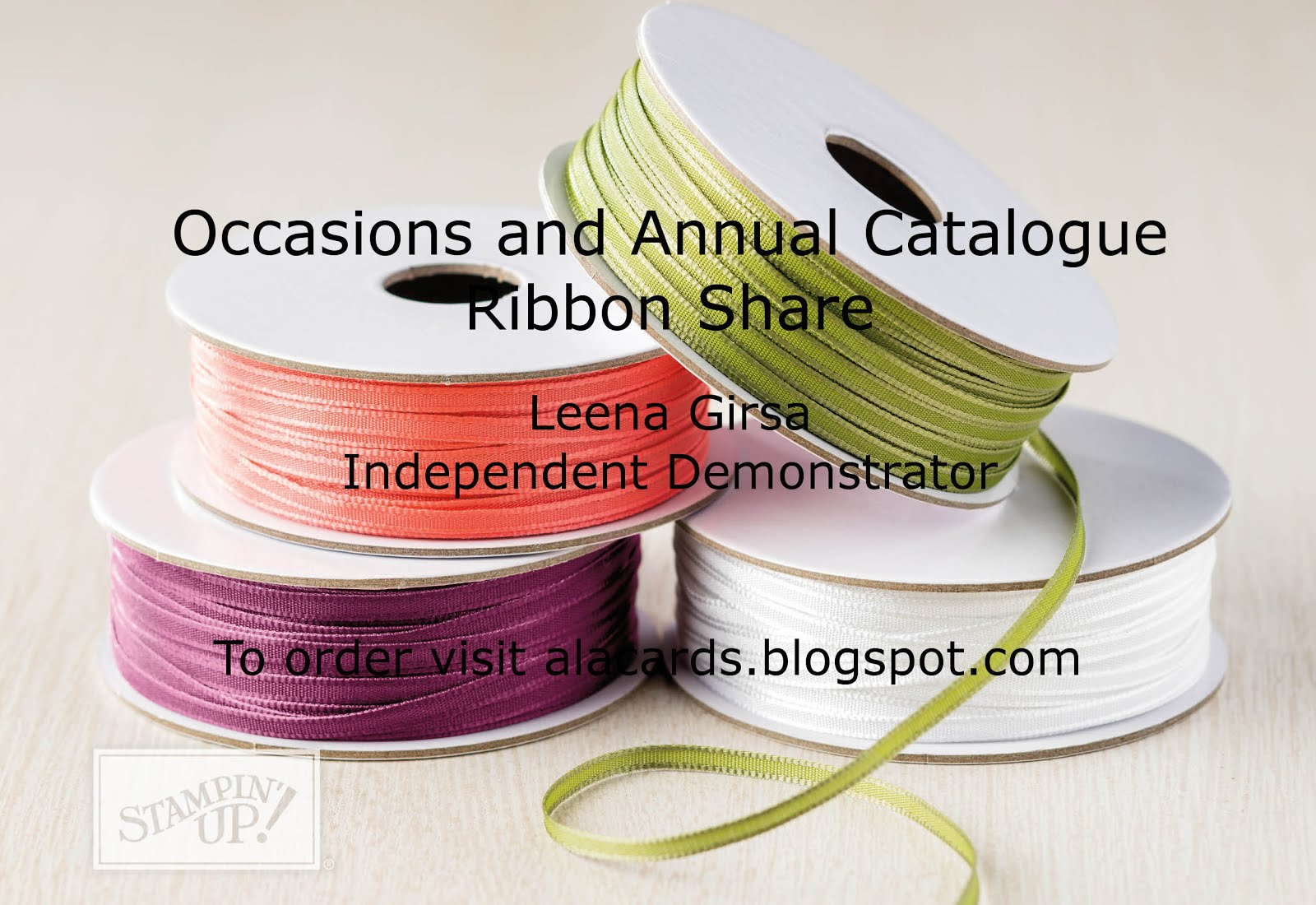 Occasions Catalogue Ribbon Share