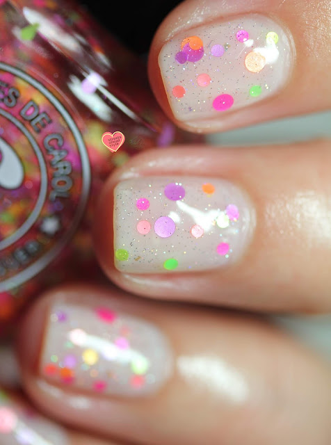 Colores de Carol Nerd Alert swatch by Streets Ahead Style