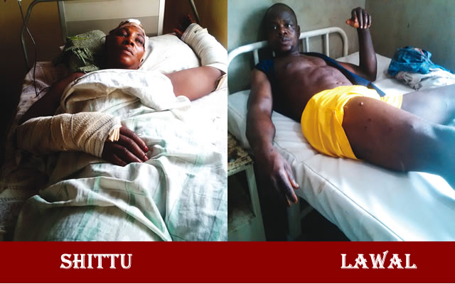 Some of the victims of the ekiti attack by herdsmen seen on their hospital beds after injuries
