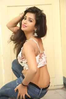 Deekshita Parvathi in a short crop top and Denim Jeans Spicy Pics Beautiful Actress Deekshita Parvathi January 2017 CelebxNext (123).JPG