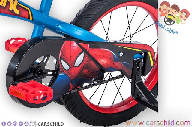 عجلة دراجة سبايدرمان الهوائية
