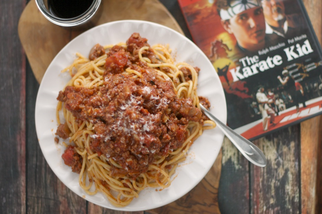 Spaghetti di LaRusso (Homemade Meat Sauce) | The Karate Kid