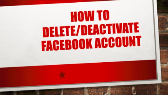 How To Delete On Facebook
